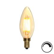 Filamentpære Soft Glow LED C35 SOFT E14 350LM 821 4W DIM
