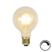 Filamentpære Soft Glow LED G80 SOFT E27 140LM 821 1,5W DIM