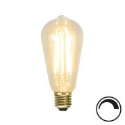 Filamentpære Soft Glow LED ST64 SOFT E27 320LM 821 3,6W DIM