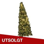 Halvt juletre Furu H:180 cm Varmhvit IP44