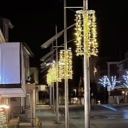 Lysgardinfeste til stolpe Ø:60 cm