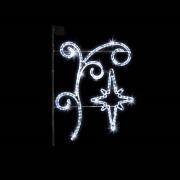 Stolpe-/veggdekor Cristal H:110 cm