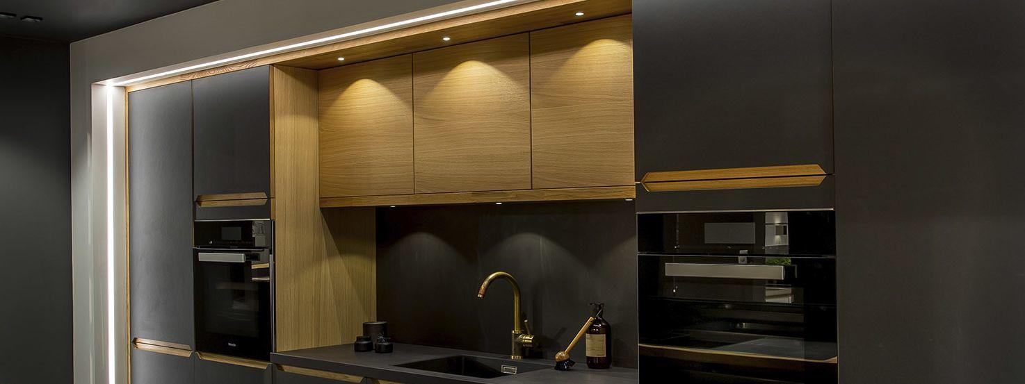 LED-striper på kjøkken