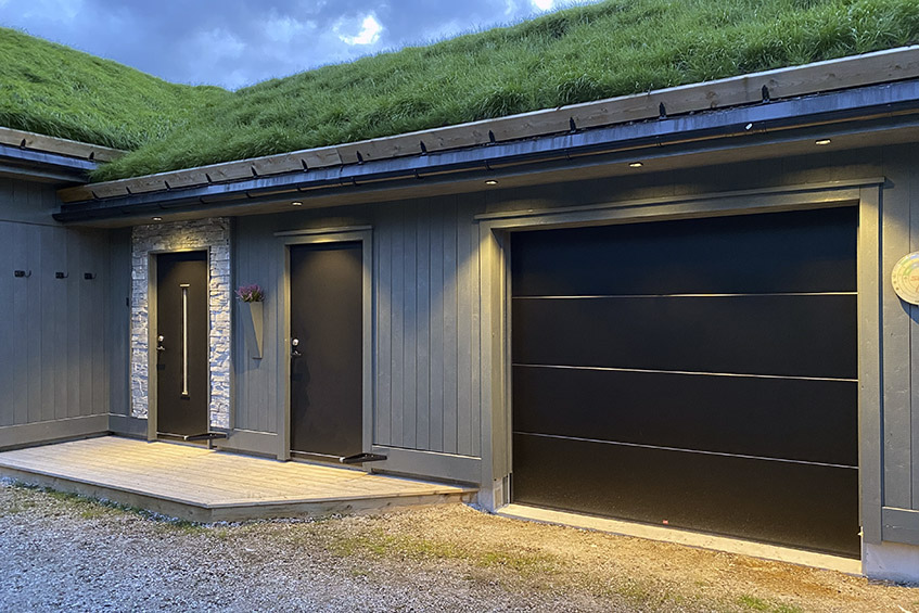 Privat garasje - Squary downlights