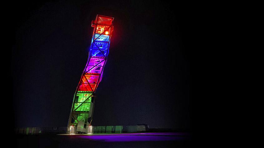 Over - verdens høyeste klatretårn - RBG