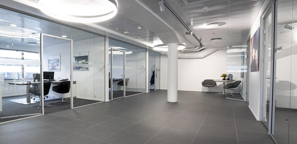 Kontorer på Porsche Center Oslo