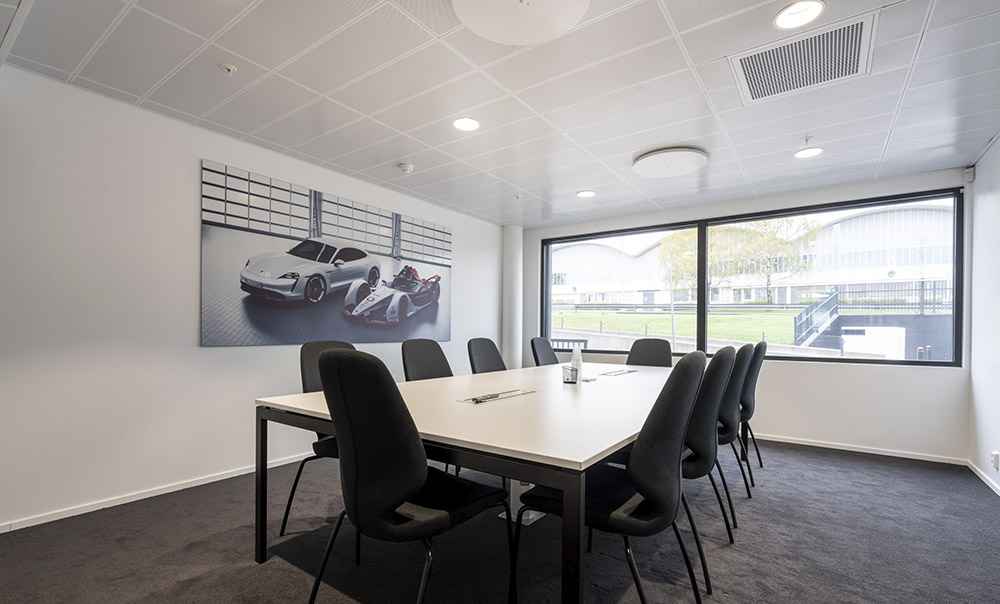 Møterom på Porsche Center Oslo