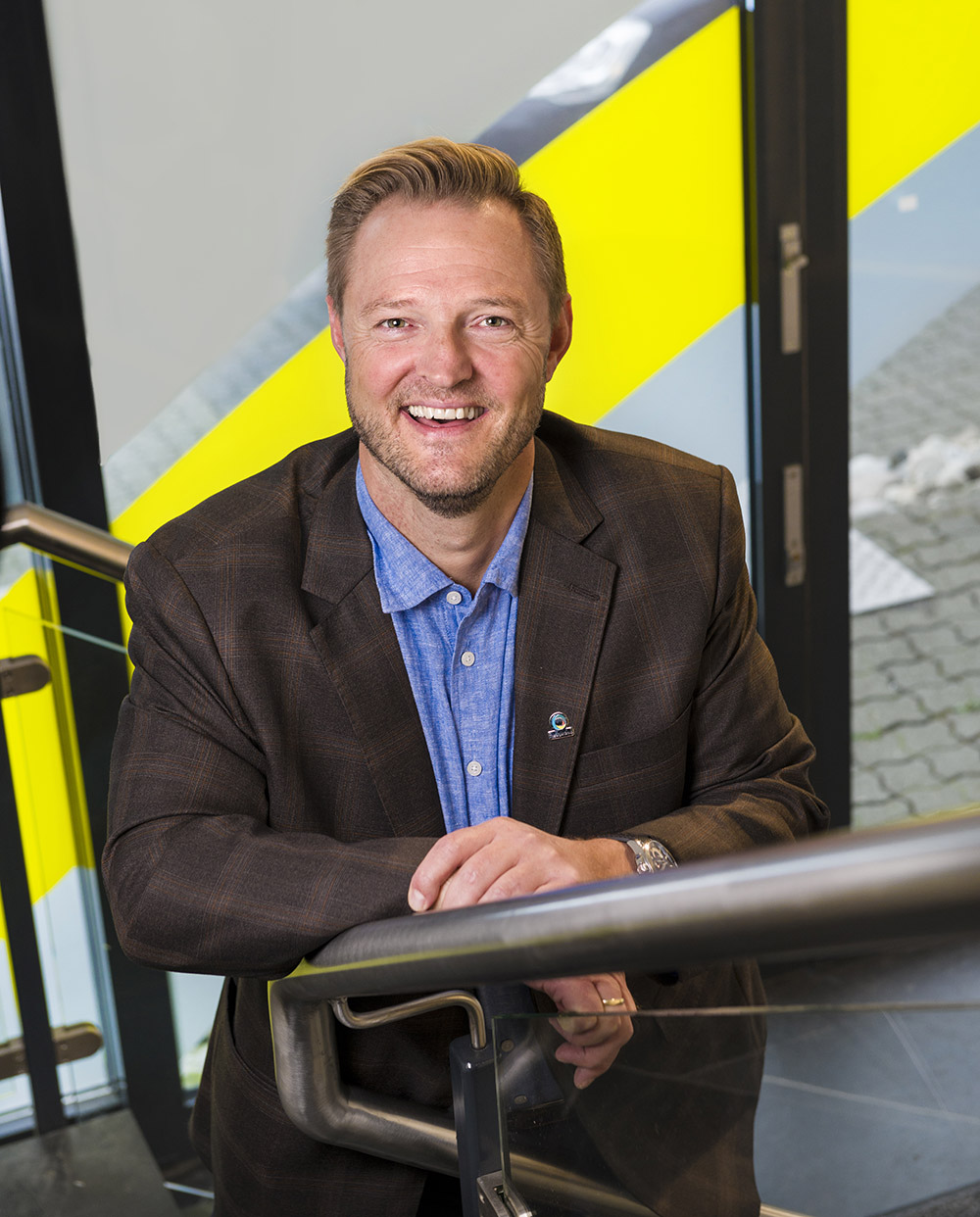 Yngvar Rønning, CEO TLG