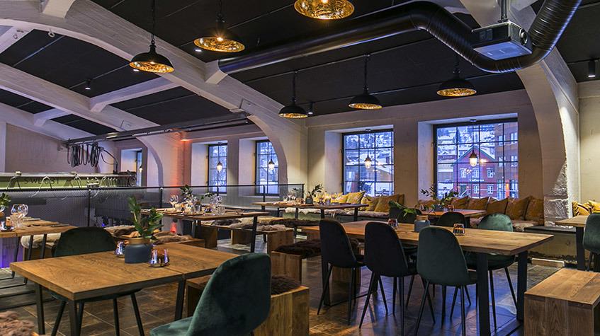 Maskinverkstedet Restaurant - Vervet