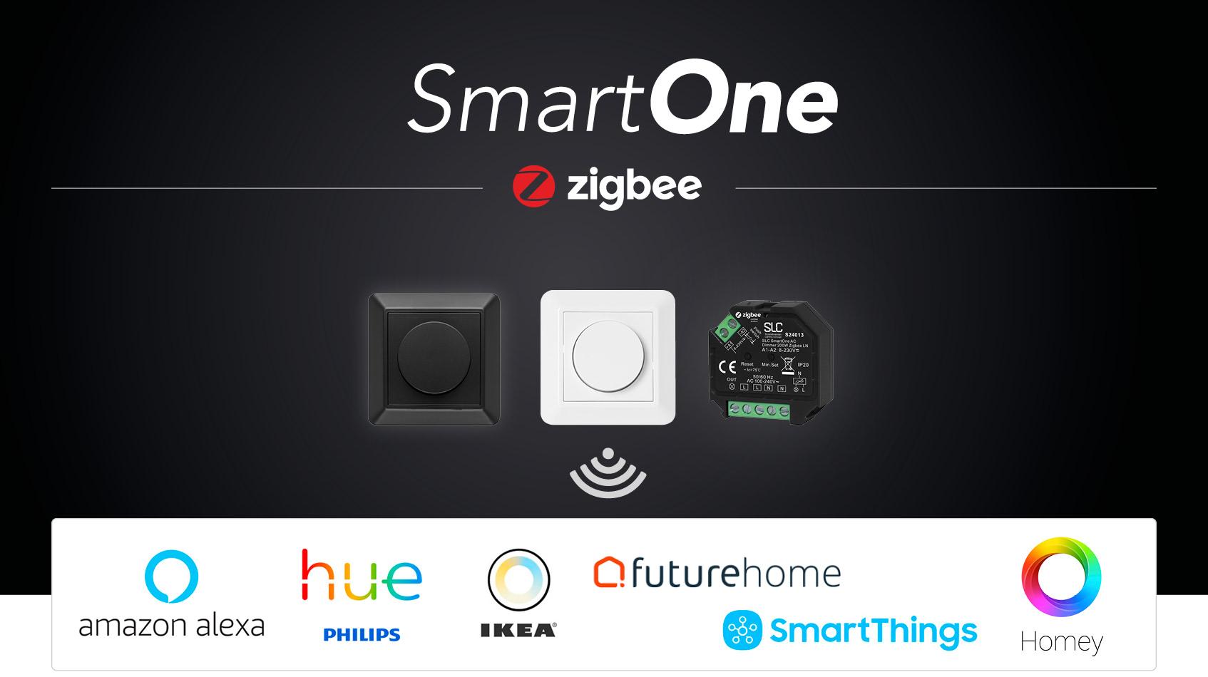 [ SmartOne - Fremtidens dimmer - klar for alle smarthus! ]