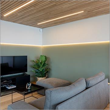 Mono LED-striper