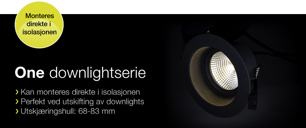 One downlightserie