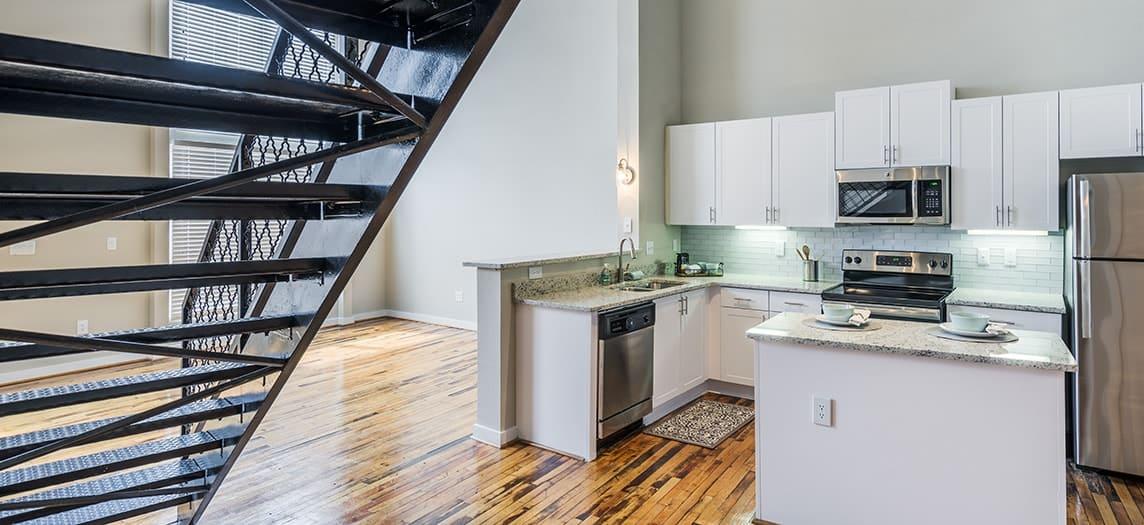 Midtown Apartments Lofts Post Parkside Atlanta Maa