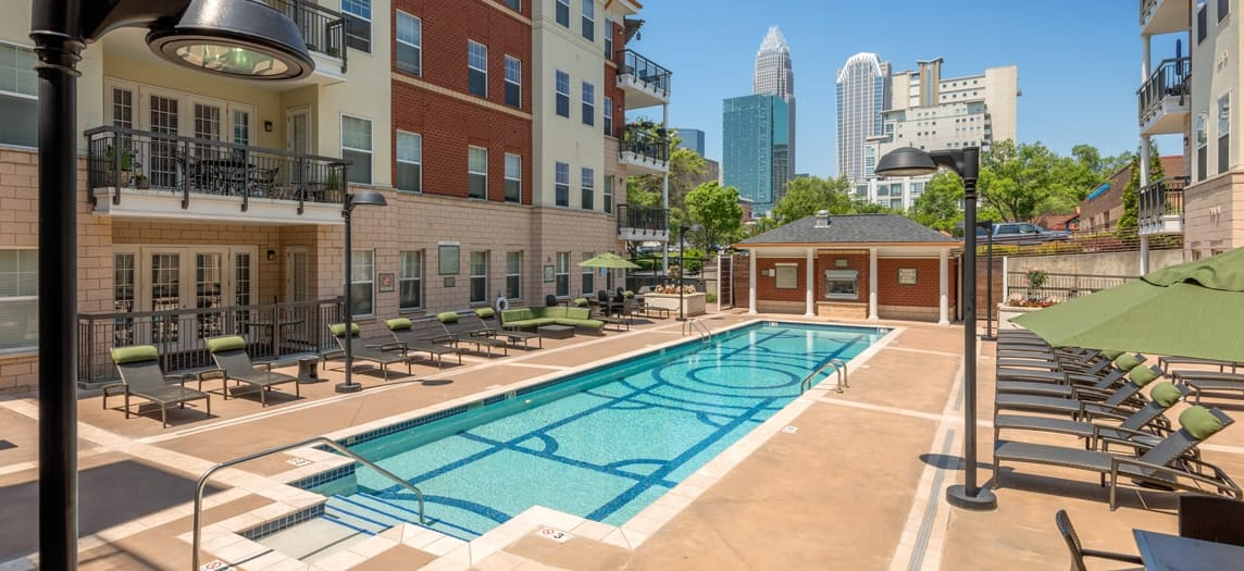 Enclave | Luxury Apartments in Uptown Charlotte, NC | MAA