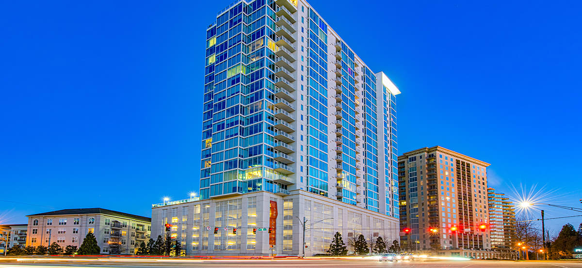 Post Alexander High Rise Luxury Apartments in Atlanta | MAA