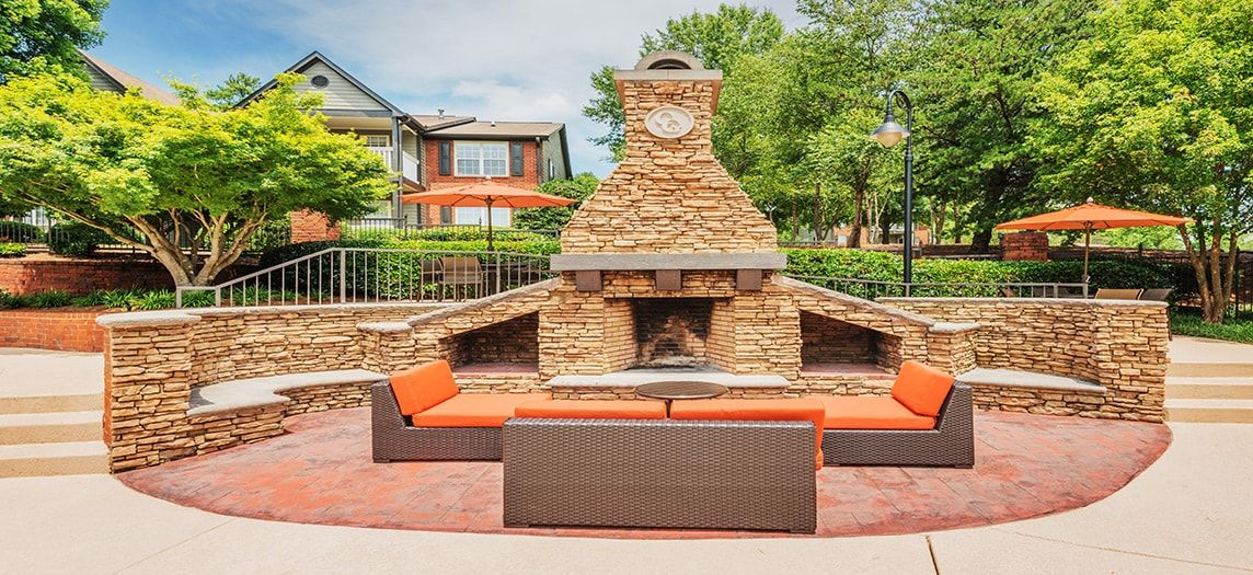 ... Outdoor Firepit At Colonial Grand At Pleasant Hill Luxury Apartment  Homes In Atlanta, GA ...