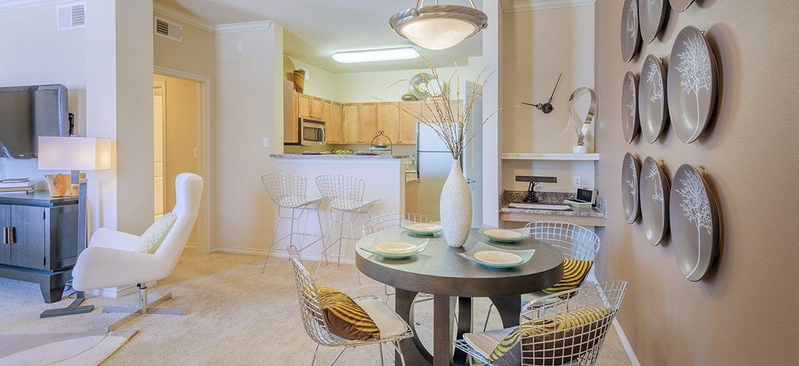 ... Dining Room At Copper Ridge Luxury Apartment Homes In Dallas, TX ...
