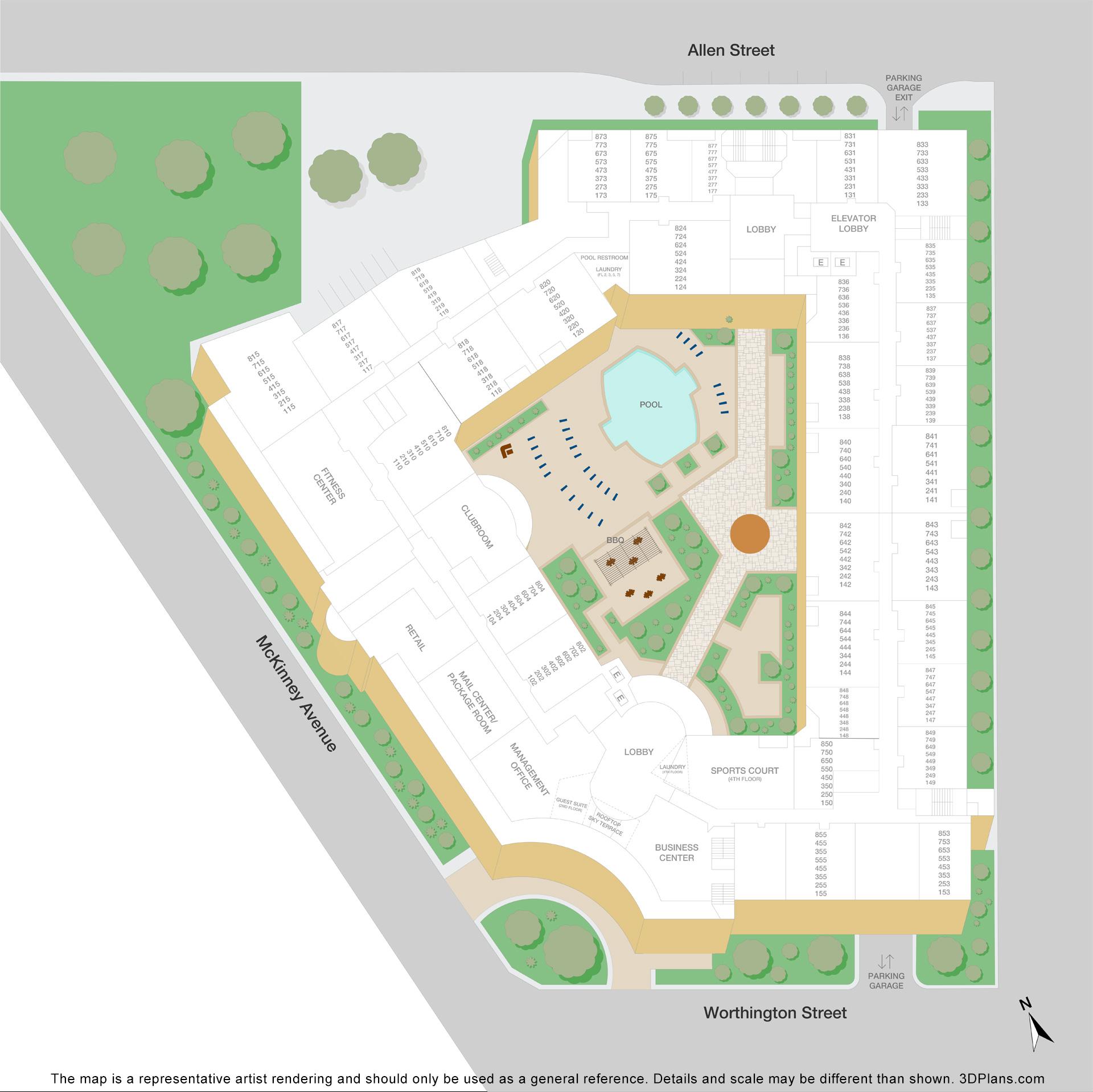 Post Worthington: McKinney Ave Uptown Apartments
