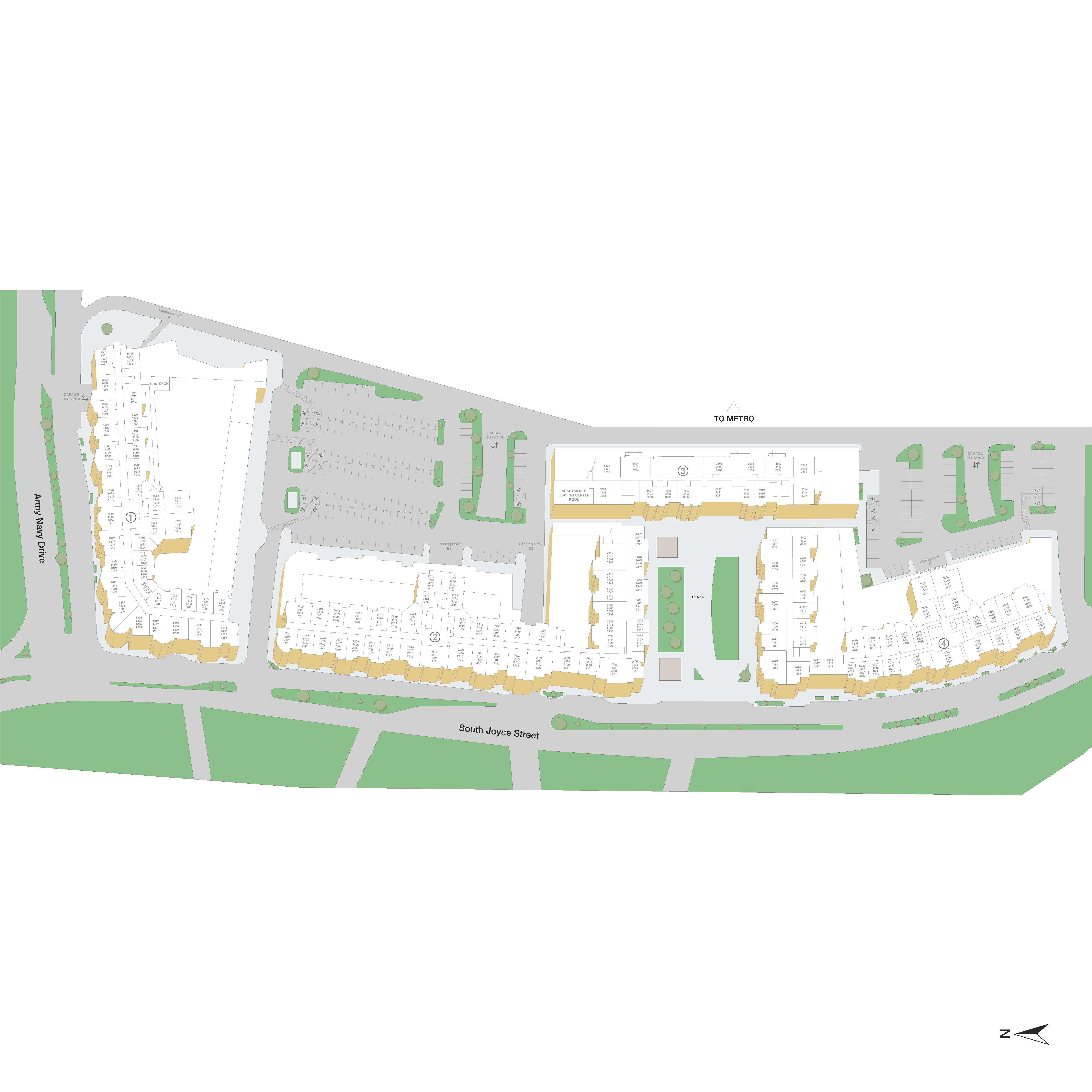 Post Pentagon Row Apartment Community