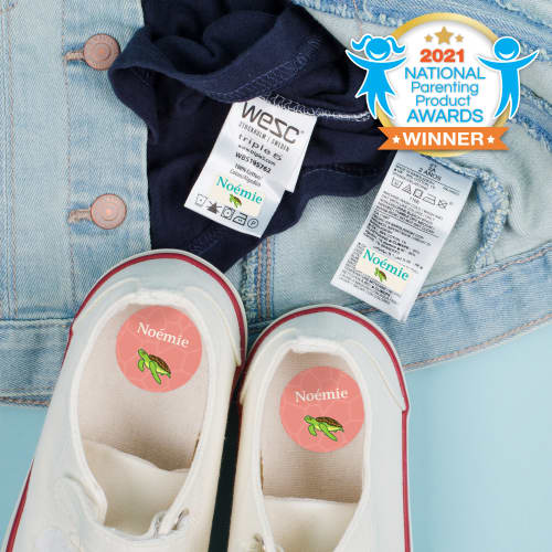 Ensemble d'étiquettes pour vêtements