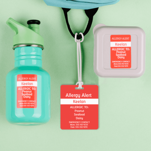 Medical Alert Label Pack