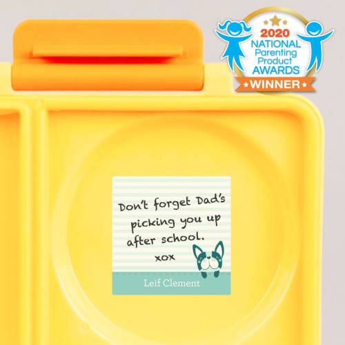 Washaway Lunch Box Notes
