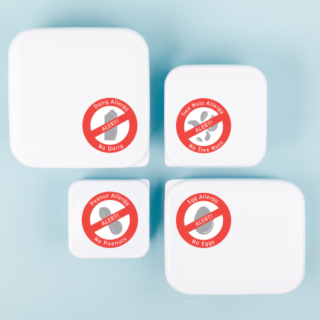 Allergy Stickers