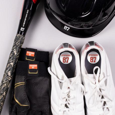 Hockey Gear Label Pack