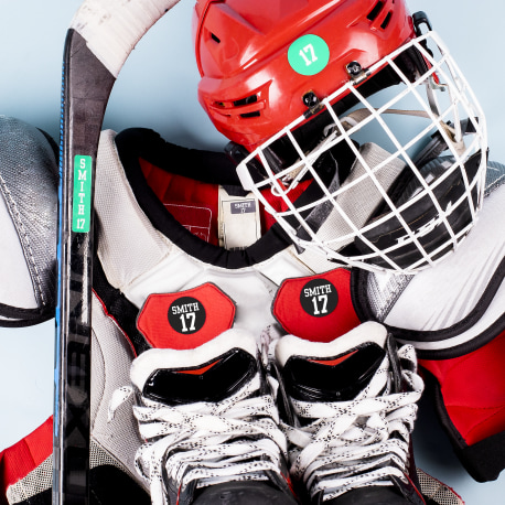 Hockey Label Pack