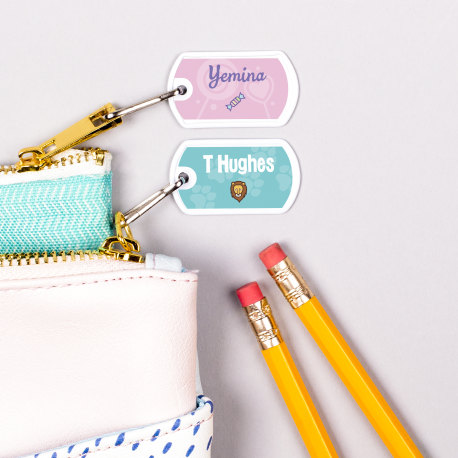Personalized Mini Tags