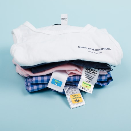 Tag Mates™ Stick On Clothing Labels