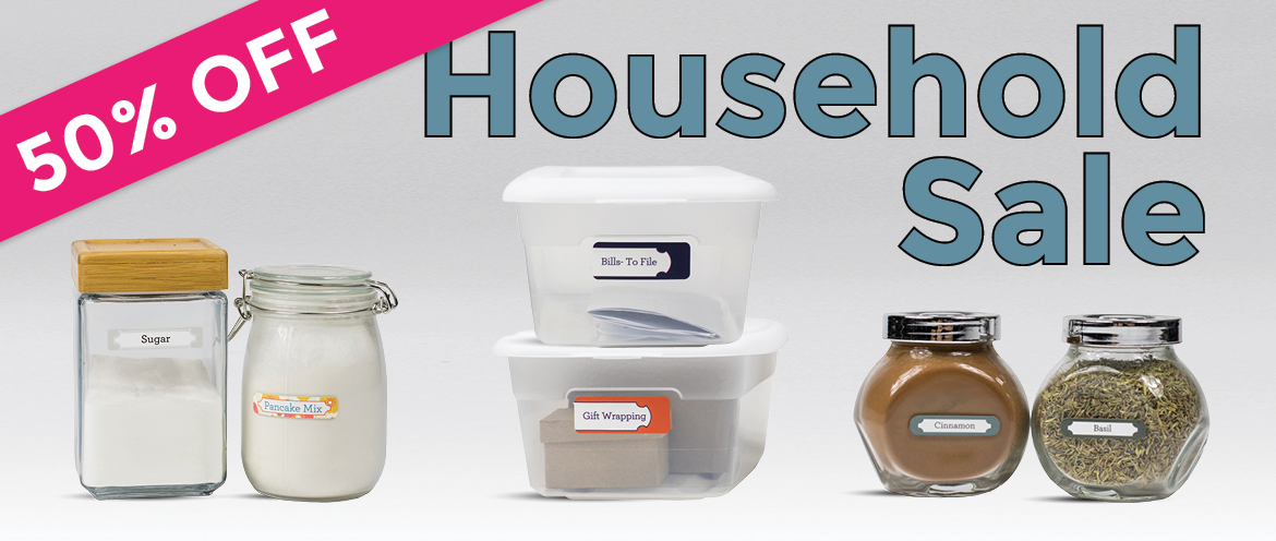50% Off Mabel's Labels - Household Labels Sale