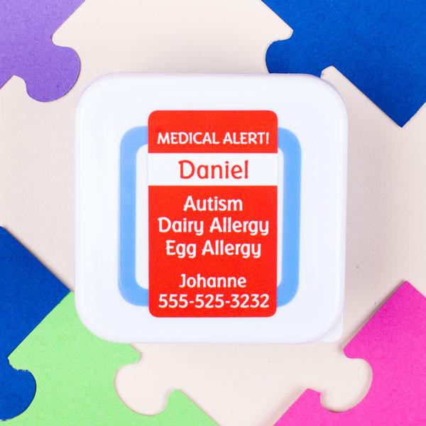 30% Off Kids' Medical Alert Labels - Mabel's Labels Autism Awareness Sale