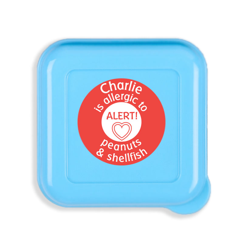 50% Off Customizable Allergy Alert Labels - Mabel's Labels