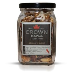 Maple Glazed Mixed Nuts