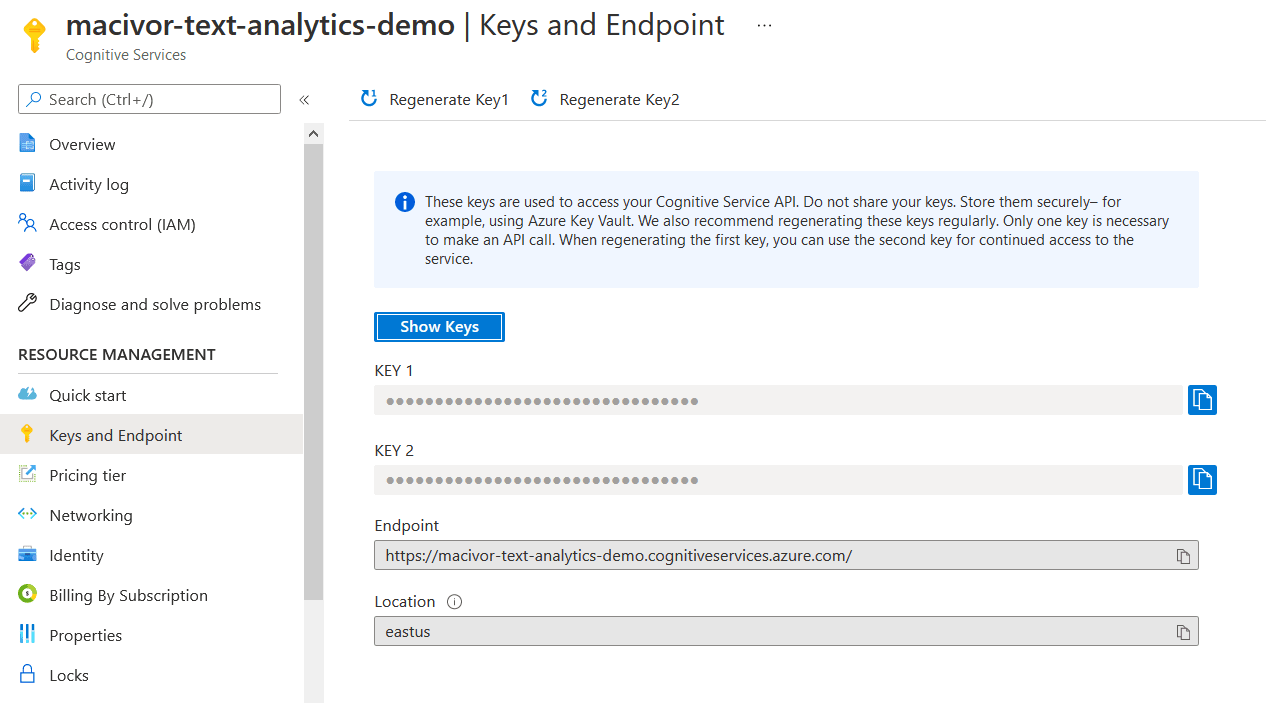A picture of the Text Analytics icon as shown on Azure Portal.