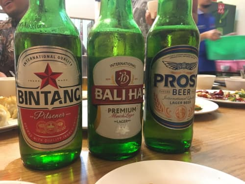 インドネシア ビンタンビール