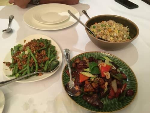ジャカルタ インドネシア料理レストラン プラタラン(Plataran)の料理