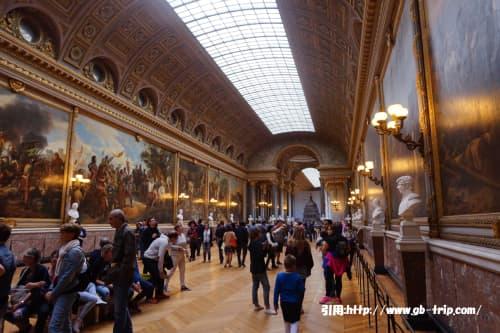 パリの風景 ベルサイユ宮殿
