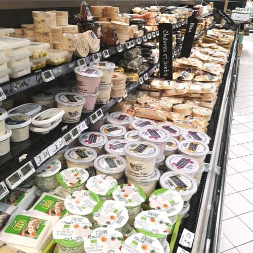 パリのフレッシュチーズ