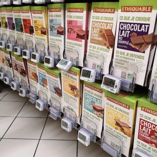 パリのオーガニックチョコレート