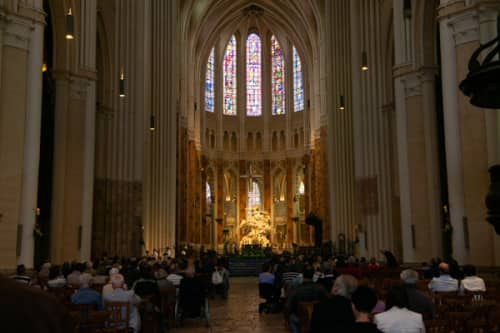 ノートルダム 復活祭のミサ
