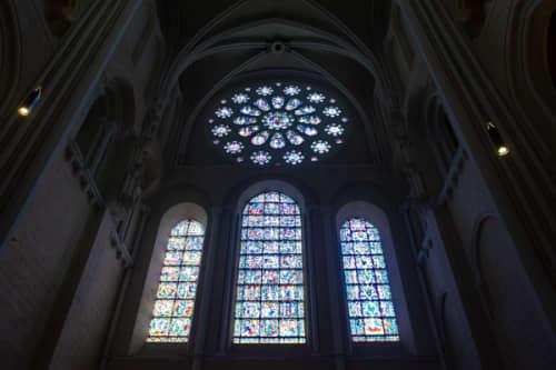 シャルトルのノートルダム大聖堂 ステンドグラス