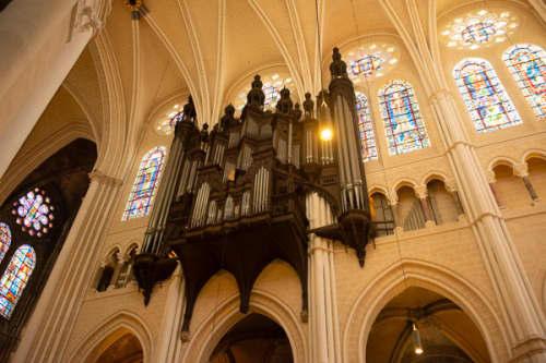 シャルトルのノートルダム大聖堂のパイプオルガン