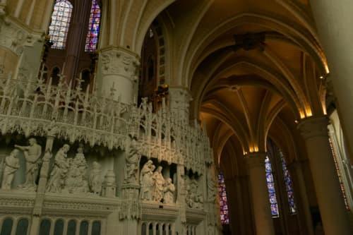シャルトルのノートルダム大聖堂 彫刻パノラマ
