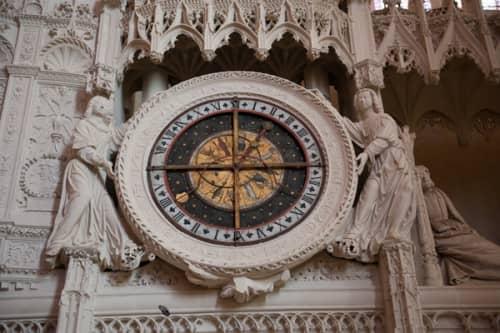 シャルトルのノートルダム大聖堂 天文時計