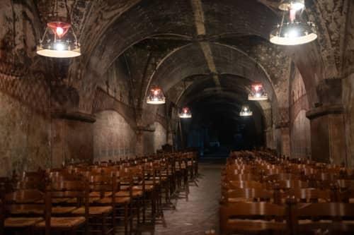 シャルトルのノートルダム大聖堂 地下礼拝堂