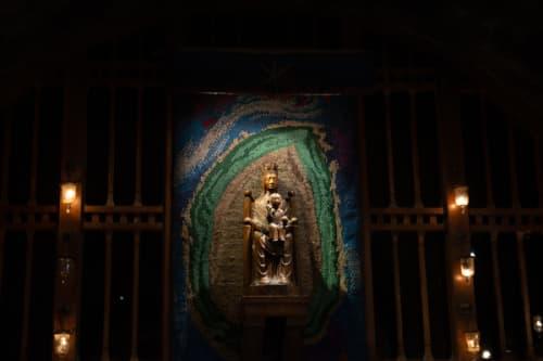地下の聖母マリア