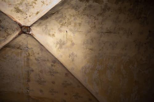 フランス革命の爪痕が残る天井