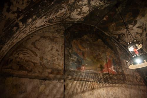 シャルトルのノートルダム大聖堂 フレスコ画